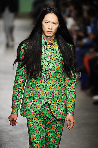 Richard James Spring Summer 2016 London Collections Men Copyright Catwalking.com 'One Time Only' Publication Editorial Use Only